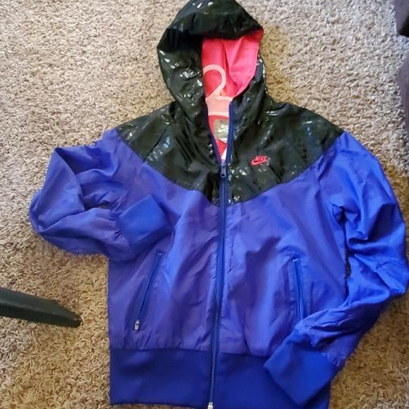 Nike Jackets & Blazers - Purple and Black Nike Jacket